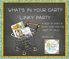 Simply Speech: What's In My Cart? {Linky Party!}