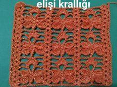 Crochet Shawl, Crochet Stitches, Baby Knitting Patterns, Crochet Patterns, Crochet Videos, Crochet Squares, Free Pattern, Blanket, Crochet Flowers
