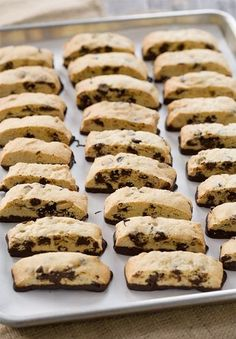 Orange and Dark Chocolate Biscotti.
