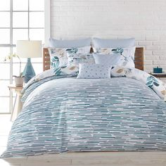 Linen Chest Lumia Bedding Collection By Croscill - Duvet Cover Set - King Bedroom Comforter Sets, Blue Comforter Sets, Croscill Bedding, Console, Queen Bedroom, Cozy Bed, Cotton Bedding, Bedding Collections, Luxury Bedding