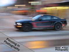 Panning in Photography | Boost Your Photography