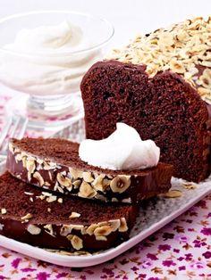 Sprudelkuchen: Schokoladiger Nusskuchen