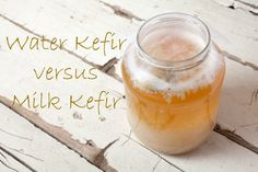 Water kefir is a popular substitute for milk kefir, but the probiotic benefit between the two is quite different.