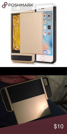 iPhone 7 case With slide pocket for card Accessories Phone Cases