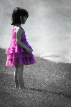 Pink and Purple Princess Creative Photos, Great Photos, Different Shades Of Pink, Candid, Little Ones, Flower Girl Dresses, Poses, Princess, Purple