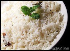 Jeera Rice / Cumin Rice With Kurma ~ Sankeerthanam (Reciperoll.com)|Recipes | Cake Decorations | Cup Cakes |Food Photos