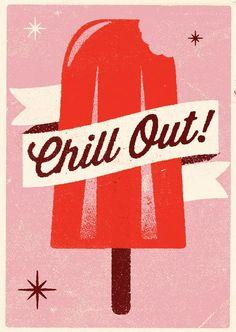 Chill out with a 50's era retro fridge from Bigchill.com