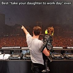 Take your daughter to work…