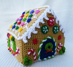 Ravelry: Maryfairy's Gingerbread House for Annabel