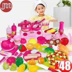 Find More Kitchen Toys Information about New 48 PCS Kitchen Toys Vegetable Fruit Pizza Cutting Knife Educational Learning Kids Pretend Play Game Tools Gifts Tracking,High Quality gift,China tool canvas Suppliers, Cheap gift hyundai from M&J Toys Global Trading Co.,Ltd on Aliexpress.com