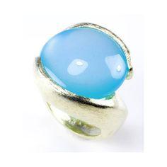 Large Round Stone Ring