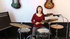 Thislisa Beginner Drum Lesson 3 ♦ Crash on beat 1