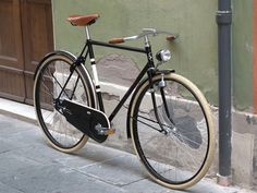 Chiossi Cycles #1930. A gorgeous Italian bicycle.