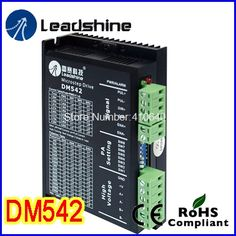 31.10$  Watch here - Leadshine DM542 2 Phase DSP Digital Stepper Drive with Max 48 VDC Input Voltage and Max 4.2 A Output Current GENUINE!  #aliexpress