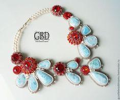 Бисерные ожерелья Гузель Бакеевой