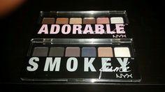 All you need to create #adorable #smoky eyes #Nyx
