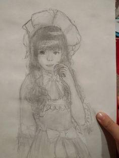 #girl #loli #pencil #drawing