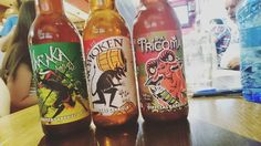 Karaka Nomoken y Tricoma cervezacas salmantinas de @CervezaGarriela