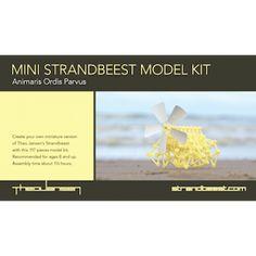 Mini Strandbeest Kit (inclusief A5 photo kaart)