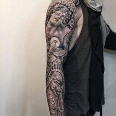 Sleeve lil b tattoo, tattoo art, flower of life, virgin mary, Lil B Tattoo, Mary Tattoo, Tattoo For Son, Forarm Tattoos, Forearm Tattoo Men, Life Tattoos, Men Tattoos, Cool Chest Tattoos, Best Sleeve Tattoos