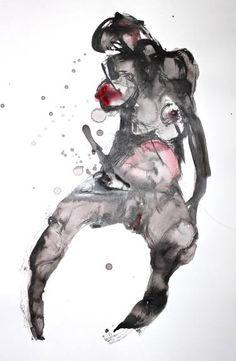 "Saatchi Art Artist Dong Li-Blackwell; Painting, ""lady X No.79"" #art"