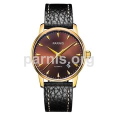 TIMELESS 38 Mechanical Watch, Stainless Steel Case, Jewels, Crystals, Leather, Style, Swag, Jewerly, Crystal
