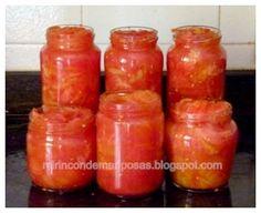 mi rincón de mariposas: Conservas de tomate