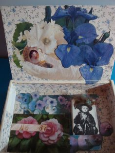 inside Carrie's Queen Victoria box