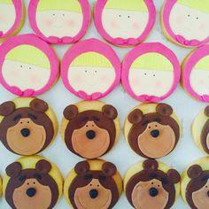 biscotti Masha e orso
