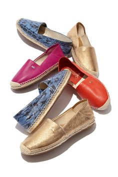 Take a walk on the sunny side of the street in espadrilles by Michael Kors.