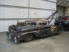 Rat Rod Tow Truck