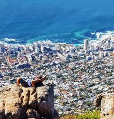 on top of Lion's Head overlooking Sea Point -Cape Town,South Africa Cape Town South Africa, Dear Future, My Land, Vacation Destinations, Homeland, West Coast, Beautiful Places, Landscapes, Wanderlust