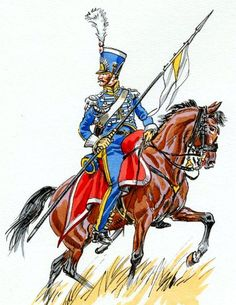 Naples Royal Guard Lanciers 1812