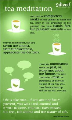 Tea meditation by Thich Nhat Hanh