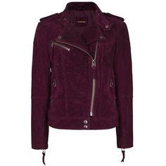 MANGO Suede Biker Jacket ($170) ❤ liked on Polyvore