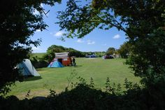 Tom's Field Campsite in Dorset, another of my favourite ever campsites. Nice & quiet site, they don't take reservations and have a shop onsite with local produce. There's also a pub within walking distance and they recycle everything! Dancing Ledge (famous spot on Jurassic Coast) is also accessible by footpath from the site. Camping as it should be, absolutely fabulous!!