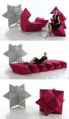 Schamburg and Alvisse designed these sustainable, modular... #Sleepys