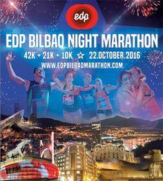 Sorteo de 10 dorsales para correr el EDP Bilbao Night Marathon 2016
