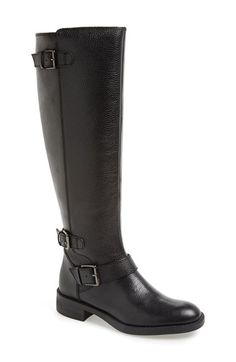 Free shipping and returns on Enzo Angiolini 'Sayin' Riding Boot (Women) at Nordstrom.com. Burnished leather heightens the effortless sophistication of a streamlined, buckle-embellished riding boot.