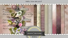 Hello, how are you by Graphic Creations