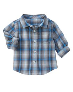 Plaid Shirt at Gymboree  Collection Name: Cozy Critters (2015)