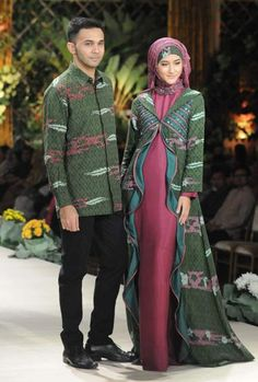 74 Best Gamis Batik Images Batik Muslim Batik Dress Batik Fashion