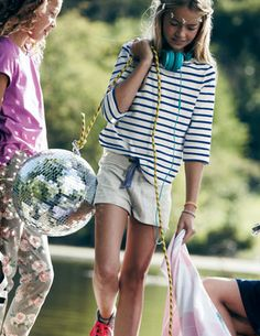 Tween look @BodenClothing Jersey Shorts