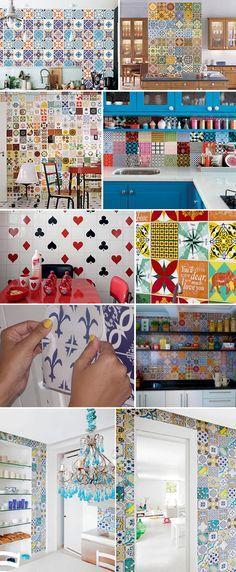 Como decorar gastando pouco: Cozinhas! Dica do blog Bramare
