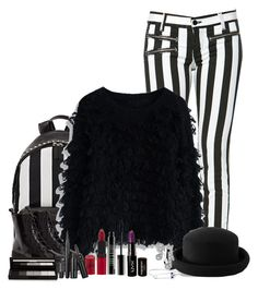 """Five Nights At Freddy's Marionette"" by wafflez-cry-syrup ❤ liked on Polyvore featuring Givenchy, Chicwish, Warehouse, Jeffrey Campbell, NYX, Fevrie, Rimmel, Lord & Berry and shu uemura"