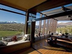 Luxurious and Peaceful Designer Home In New Zealand.  Holy crap look at that view!!!