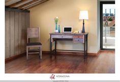 Artisan Home Furniture in Kirksville, MO - Writing Desk, Reclaimed Wood finish.