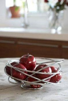 Metal Fruit Loop Bowl - Modern Kitchen #Decor