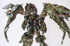 Custom Build: Elyn Hobby 1/100 NZ-666 Kshatriya + LED - Gundam Kits Collection News and Reviews