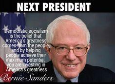 America needs Bernie Sanders  #FeeltheBern